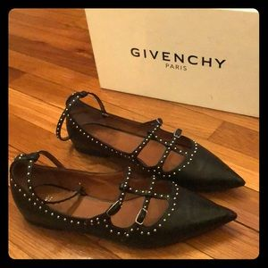 Givenchy studded flats